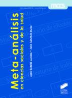 Meta-análisis en ciencias sociales y de la salud (ebook)
