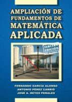 Ampliación de fundamentos de matemática aplicada (ebook)