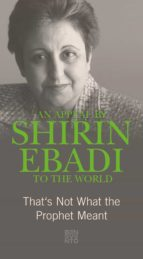 An Appeal by Shirin Ebadi to the world (ebook)
