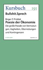 Poesie der Ökonomie (ebook)