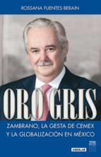 Oro gris (ebook)