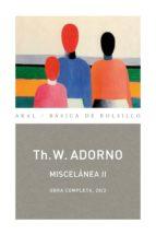Miscelánea II (ebook)