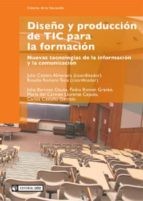 Diseño y producción de TIC para la formación (ebook)