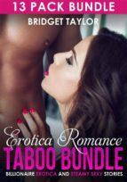 Erotica Romance Taboo Bundle: Billionaire Erotica (ebook)