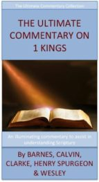 The Ultimate Commentary On 1 Kings (ebook)