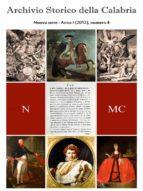 Archivio Storico della Calabria - Nuova Serie - Numero 4 (ebook)