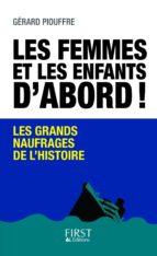 LES FEMMES ET LES ENFANTS D'ABORD
