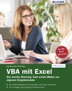 VBA mit Excel - Der leichte Einstieg: Vom ersten Makro zur eigenen Eingabemaske (ebook)