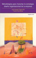Metodologías para implantar la estrategia: diseño organizacional de la empresa (ebook)