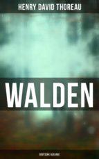 WALDEN - Vollständige deutsche Ausgabe (ebook)