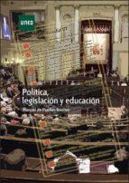 Política, legislación y educación (ebook)