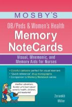 Mosby's OB/Peds & Women's Health Memory NoteCards - E-Book (ebook)