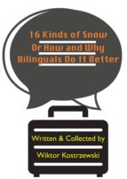 16 Kinds Of Snow, Or How And Why Bilinguals Do It Better (ebook)