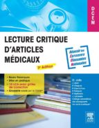 Lecture critique d'articles médicaux (ebook)