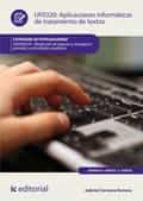 Aplicaciones informáticas de tratamiento de textos. ADGN0210 (ebook)