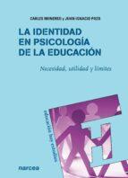 La identidad en Psicología de la Educación (ebook)