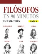 EN 90 MINUTOS - PACK FILOSOFOS 3: MAQUIAVELO, BERKELEY, LEIBNIZ, SPINOZA, HUME Y DESCARTES (ebook)