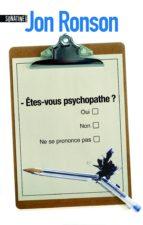 Etes-vous psychopathe ? (ebook)