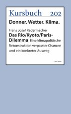 Das Rio/Kyoto/Paris-Dilemma (eBook)