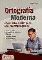Ortografía moderna. (ebook)
