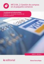Gestión de compras en el pequeño comercio. COMT0112  (ebook)