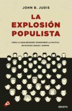 La explosión populista
