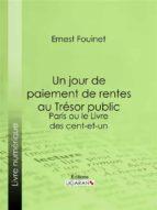 Un jour de paiement de rentes au Trésor public (ebook)