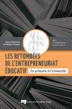 Les retombées de l'entrepreneuriat éducatif (ebook)