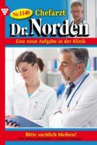 CHEFARZT DR. NORDEN 1140 ? ARZTROMAN