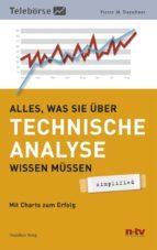 Alles was Sie über Technische Analyse wissen müssen - simplified (ebook)
