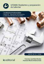 Replanteo y preparación de tuberías. IMAI0108 (ebook)