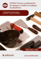 Proceso y preparación de equipos y medios en trabajos de albañilería. EOCB0108