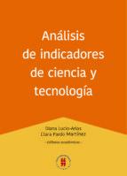 ANÁLISIS DE INDICADORES DE CIENCIA Y TECNOLOGÍA
