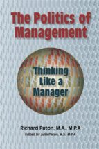 The Politics of Management: Thinking Like a Manager (ebook)