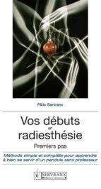 Vos débuts en radiesthésie (ebook)