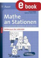 Mathe an Stationen SPEZIAL Zahlenraum bis 1000000 (ebook)