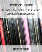 Aus den Memoiren des Herrn von Schnabelewopski (ebook)