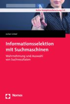 INFORMATIONSSELEKTION MIT SUCHMASCHINEN