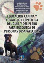 Educación canina y formación específica del guía y del perro para búsqueda de personas desaparecidas (ebook)