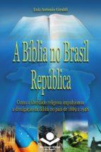 A Bíblia no Brasil República (ebook)