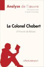 Le Colonel Chabert d'Honoré de Balzac (Analyse de l'oeuvre) (ebook)