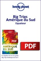 Big Trips Amérique du Sud - Equateur (ebook)