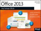 Microsoft Office 2013 auf einen Blick (ebook)