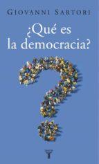 ¿Qué es la democracia? (ebook)