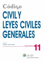 Código Civil y Leyes Civiles Generales (ebook)