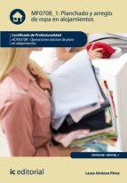 Planchado y arreglo de ropa en alojamientos. HOTA0108