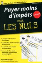 PAYER MOINS D'IMPÔTS 2015-2016 POCHE POUR LES NULS