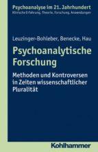 Psychoanalytische Forschung (ebook)
