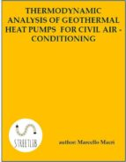 Thermodynamic analysis of geothermal heat pumps for civil air-conditioning