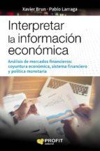 Interpretar la información económica (ebook)